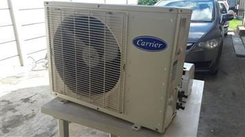 9000 BTU Jet-air aircon for sale.