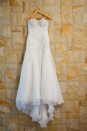 Wedding dress for sale Size 8