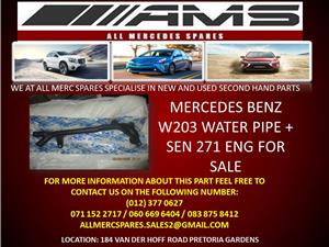 MERCEDES BENZ W203 WATER PIPE