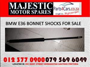 Bmw E36 bonnet shocks for sale new spares