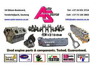 Crankshaft, Head, Block, Camshaft, Sump, Engine - for sale!