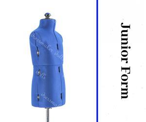 Junior Form - Adjustable Dressmaker Doll / Mannequin / Sewing Doll