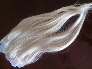 Greath Lenghts tape-in hair extensions