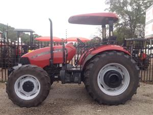 Red CASE 4x4 Pre-Owned Tractor