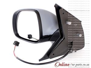 VW Kombi T5 Left Hand Side Electric Door Mirror 5P B2 LAT 2010-