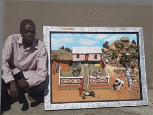 Artwork framed picture