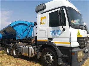 ACTROS 2640 WITH TRAILER FOR SALE. BARGAIN ONE WEEK SPECIAL.