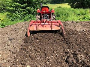 Shibaura SL1343 4WD Compact Tractor with 4ft Rotavator
