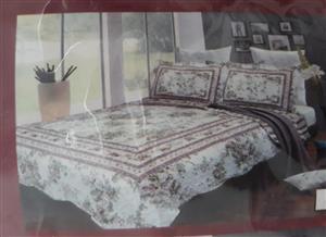 3 Piece bedding set 240 x 260cm ... 2 p/cases