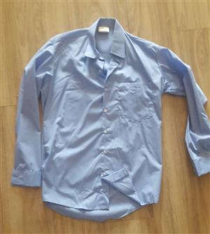 5 Light Blue school shirts for R250-00 Brand new Phone Mark 084 247 4726