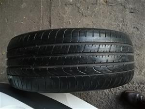 1 x used Pirelli P Zero 225/45 R19 run flat tyre in good condition for sale - R395 cash    WhatsApp sms or call Pierre on 0825784861