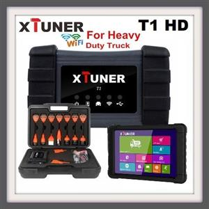 TRUCK DIAGNOSTIC TOOL XTUNER T1 HD Heavy Duty Trucks Auto Diagnostic Tool With Truck Airbag ABS DPF EGR Reset+ TABLET