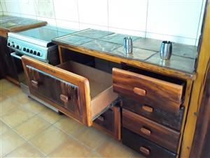 Kitchen cupboard with drawer