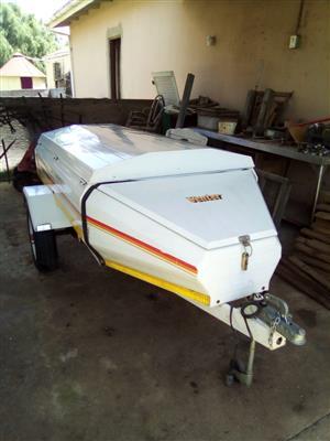 Venter trailer to swop for a motorbike