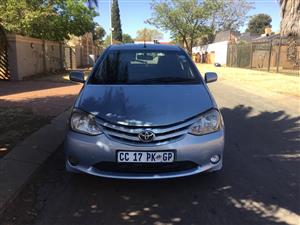 2012 Toyota Etios hatch 1.5 Sprint