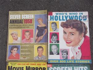 Vintage Movie Magazines - 1957 - x 4