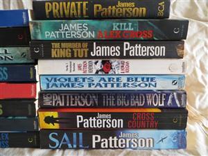 James Patterson books for sale