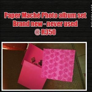 Paper Maché photo album kit