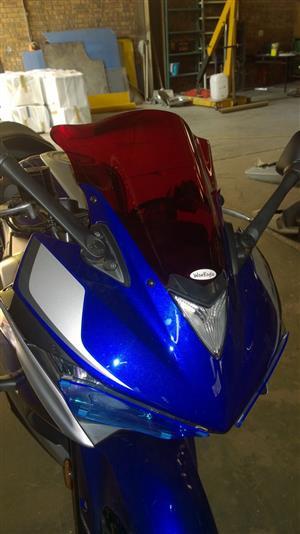 War Eagle Racing Motorcycle Screens and Fairings Yamaha R3 Standard Screen