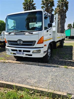 2010 Hino 1626 dropside truck for sale, 8 ton