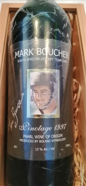 Cricket Protea Memorabilia,  Signed by the Cricket Legend Mark Boucher