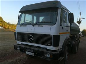 MERCEDES WATER TANKER TRUCK AT AFFORDABLE PRICE CALL US NOW