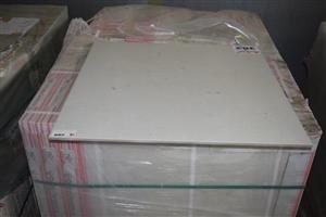 Large white ceramic tiles