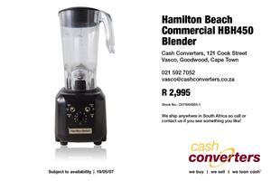 Hamilton Beach Commercial HBH450 Blender