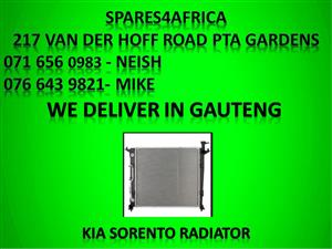 Kia sorento radiator for sale .