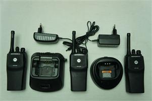 Motorola CP140 Commercial Two Way Portable Radios