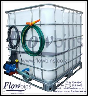NEW 1000L Water Transport Unit 220V / Water Saver Unit / Rain Havest from R3160