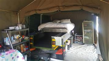 Camp trailer to swop for caravan.