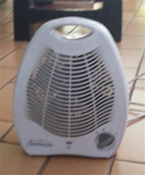 Sunbeam fan heater