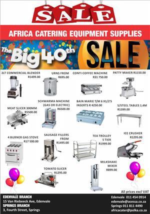 Catering Equipment Sale!!!