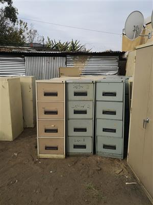 Steel filing cabinet 32 pieces available