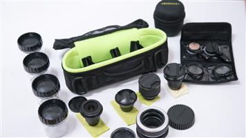 Lens Baby Full Kit of 3 lenses Fish Eye, Edge 80, Sweet 35, with Carry Case and Lots of extras - Canon