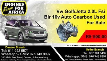 Vw Golf/Jetta 2.0L Fsi Blr 16v Auto Gearbox Used For Sale