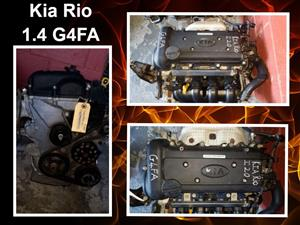 Kia Rio 1.4 G4FA engine for sale.