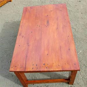 Home made coffee tables available