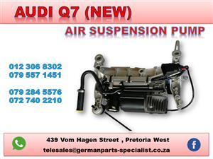AUDI Q7 NEW AIR SUSPENSION PUMP FOR SALE