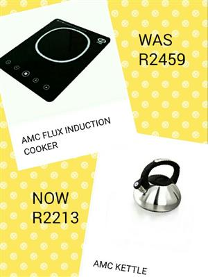 AMC Kettle and AMC Flux Induction Cooker