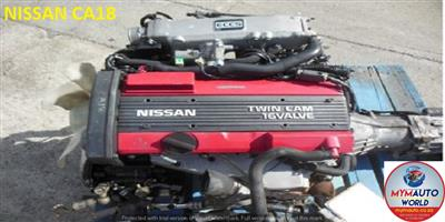 IMPORTED USED NISSAN CA 18 RWD CA18 ENGINE FOR SALE AT MYM AUTOWORLD