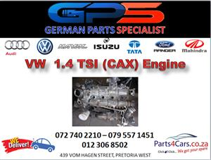 VW (CAX) 1.4 TSI Engine for Sale