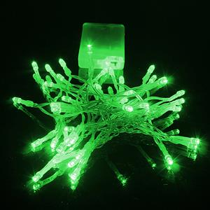 LED Decorative Fairy String Lights Waterproof Battery Operated in Green. Brand New.