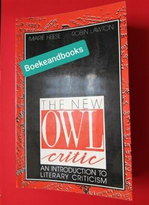 The New Owl Critic - Marie Heese - Robin Lawton.