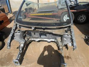 opel corsa front chassis