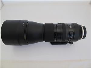 Tamron SP 150-600mm f/5-6.3 Di VC USD G2 Lens (Canon EF)