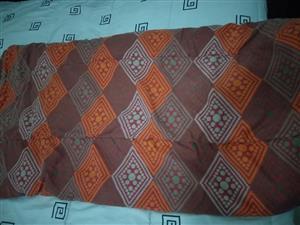 Multi colored comforter