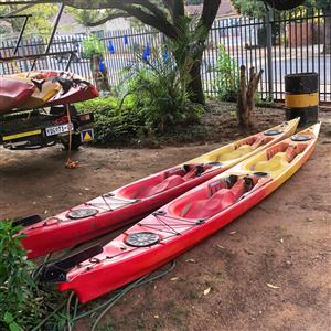 C-Kayak Toucan Double kayak with rudder