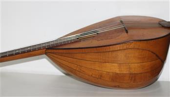 Mandolin (antique) by August Schulz, Nuremberg